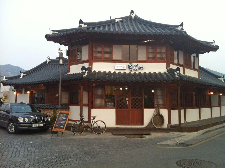 hanoktown , Jeonju, in Korea