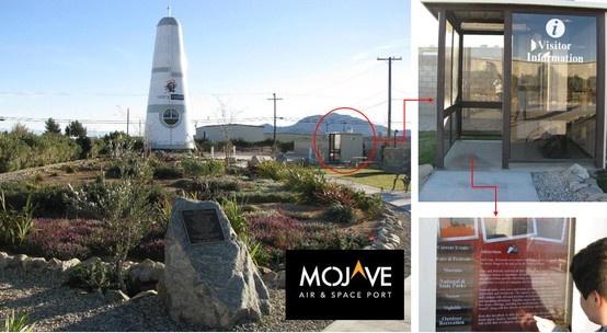 Mojave Air & Spaceport_Legacy Park Kiosk