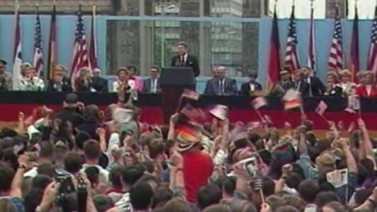 Mr. Gorbachev tear down this wall! Its been 30 years since President Reagan delivered his impassioned plea in West Berlin and relations with Russ #news #alternativenews