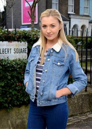 Louise Mitchell played by Tilly Keeper.