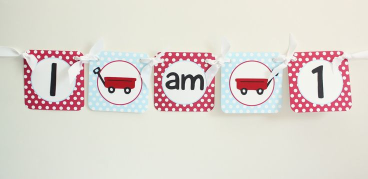 5M Creations: Little Red Wagon Party
