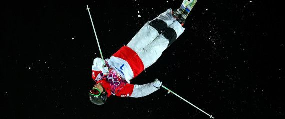 Canada's Alex Bilodeau wins gold in men's moguls and defends his Olympic title!