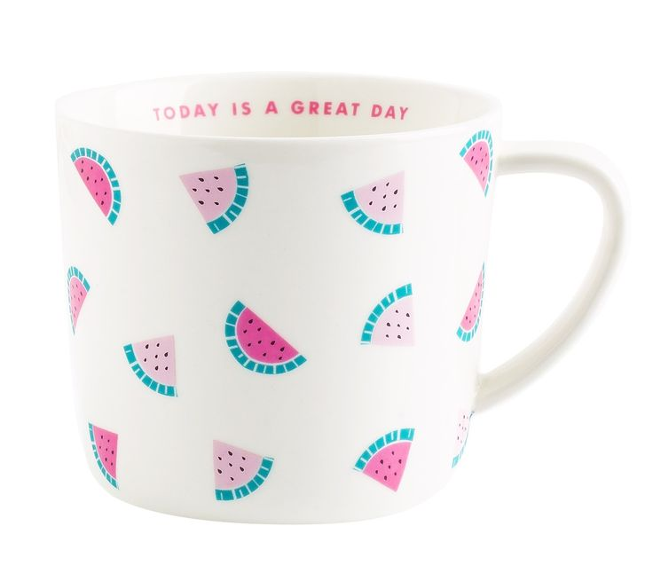 Add a burst of fruity freshness to your day with this super cute Mug. Use it to take a moment out and love the way it brightens your tea or coffee break.