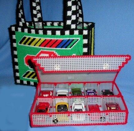 plastic canvas crafts | Car holder | plastic canvas crafts