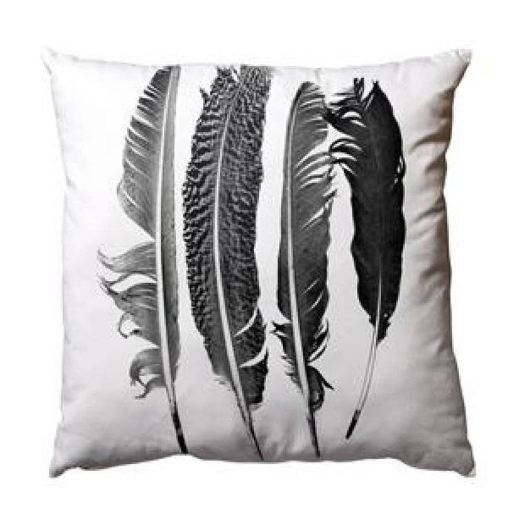 #cushion #Feather #print