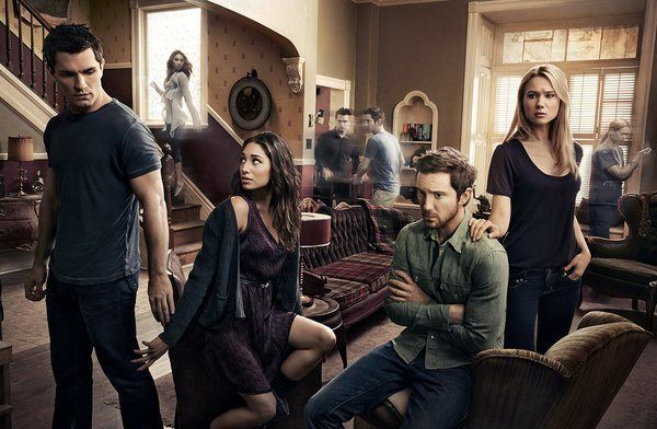 Being Human Season 4 promo I like the echoes of the past behind them.