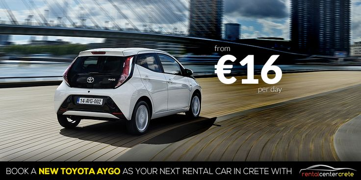 Now... #LetsTalkAboutCars How about the New #Toyota Aygo?  Book it now @ http://www.rental-center-crete.com/cars/group-a/toyota-aygo.html