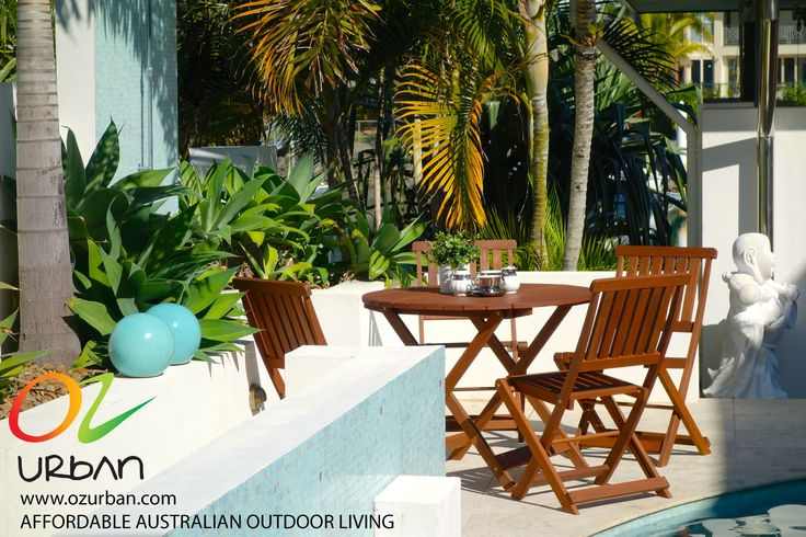 Versatile outdoor furniture makes it easy to entertain outdoors when friends pop over. Prepare for summer now and visit www.ozurban.com for a great deal on affordable outdoor furniture