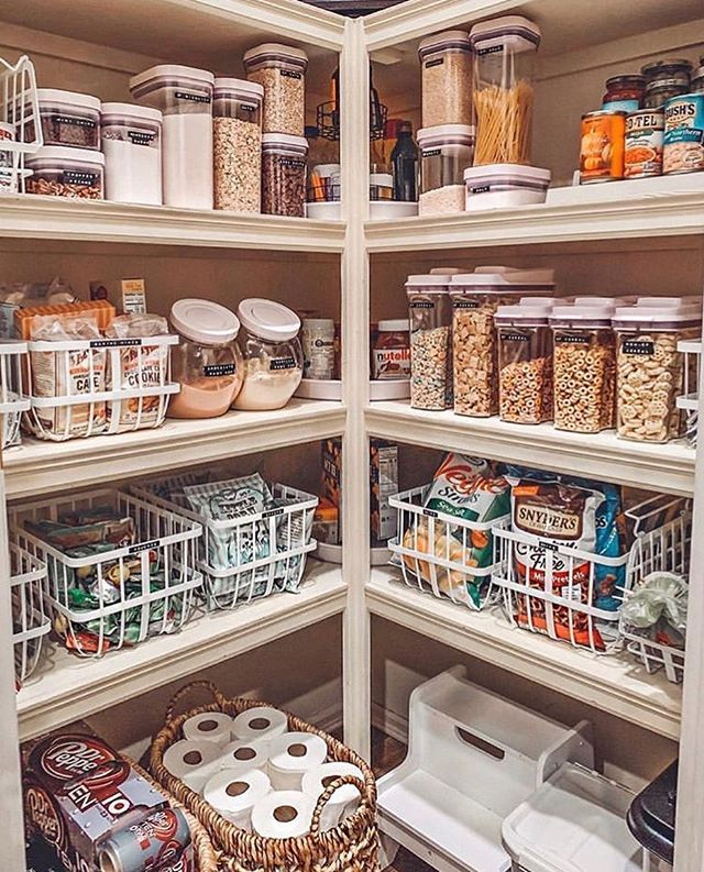 Cecelia Thewelldressedhouse Instagram Photos And Videos With Images Kitchen Organization Pantry Kitchen Pantry Design Pantry Design