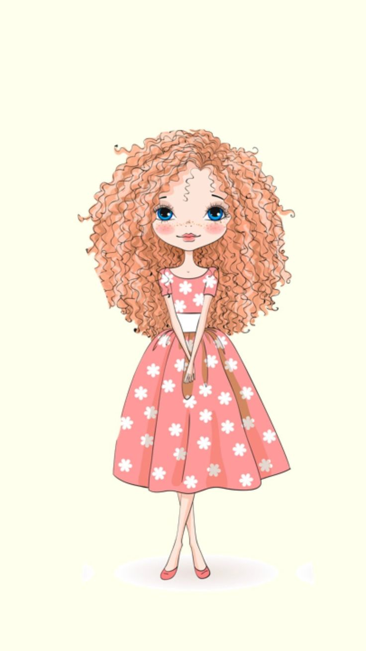 drawing girly cartoon drawings fancy illustration easy dibujos designs projects hair wallpapers dibujo por chicas para draw princess curly mejores