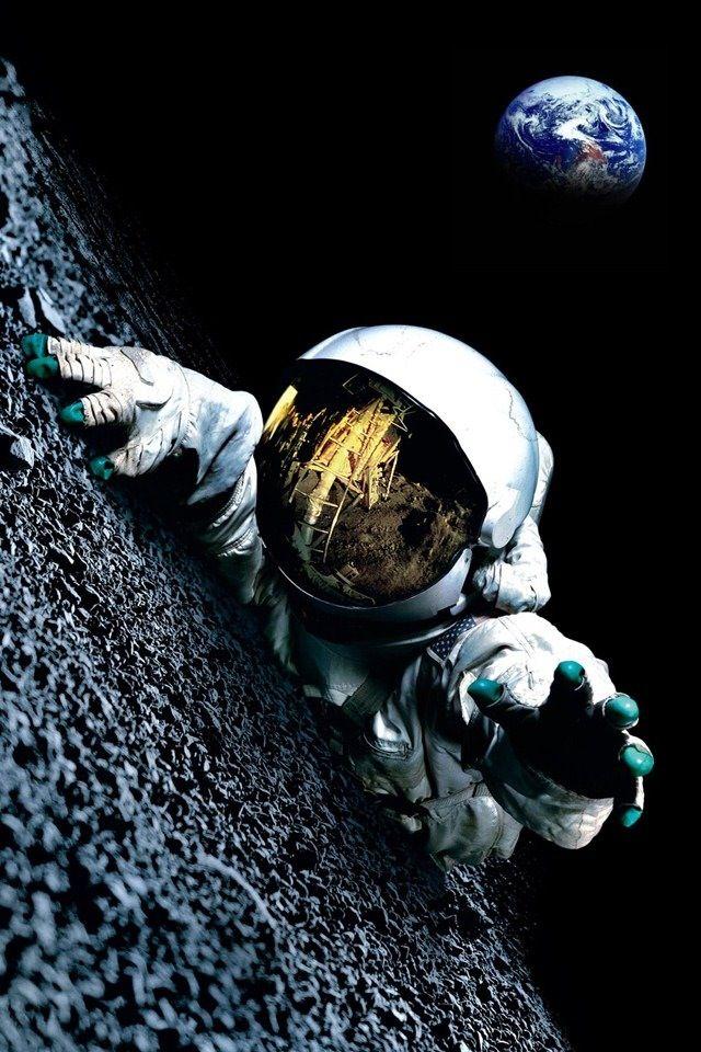 Supreme Iphone X Wallpaper Astronauta Ilustraci 243 N Del Espacio Fotos De Fondo De
