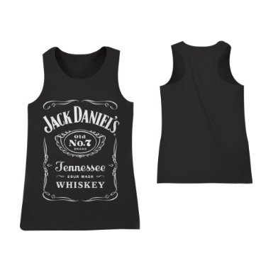 Jack Daniels Damen Top Classic Schwarz: Amazon.de: Bekleidung