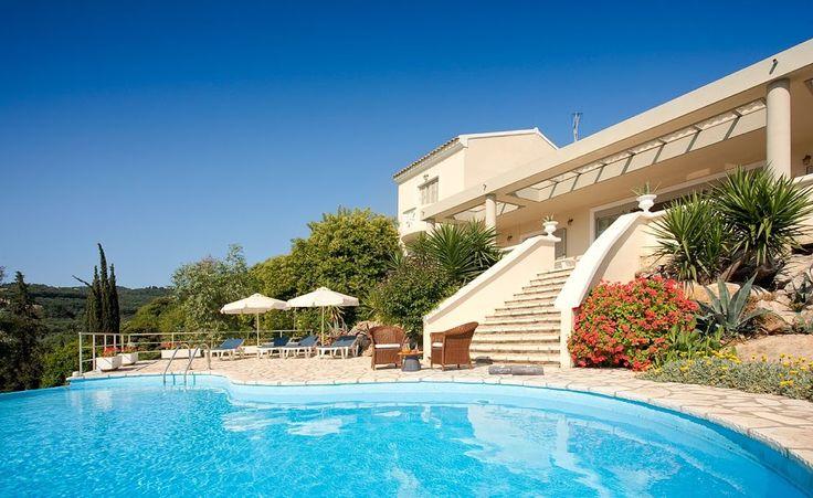 Villa Georgia part of Bella Mare #corfuhotel http://www.belmare.gr/corfu-island/
