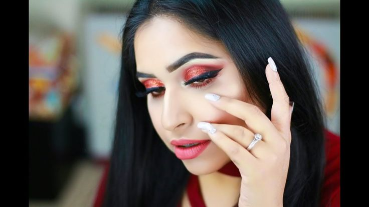 Glam Party Makeup | Glitter Makeup | Huda Beauty faux filter foundation | Asian Party Makeup #makeup #makeuptest #makeupartist #makeupaddict #makeuplover #makeupjunkie #wakeupandmakeup #makeupforever #makeuptutorial #beautyblog #hudabeauty #naturalbeauty #beauty #beautyhacks #mua #cosmetics #skincare