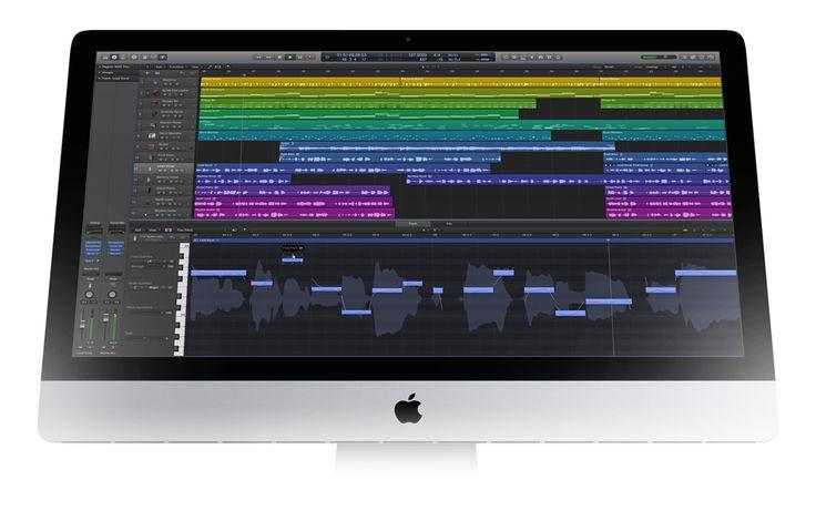 Apple - Logic Pro X - Music production. Cranked up to X.