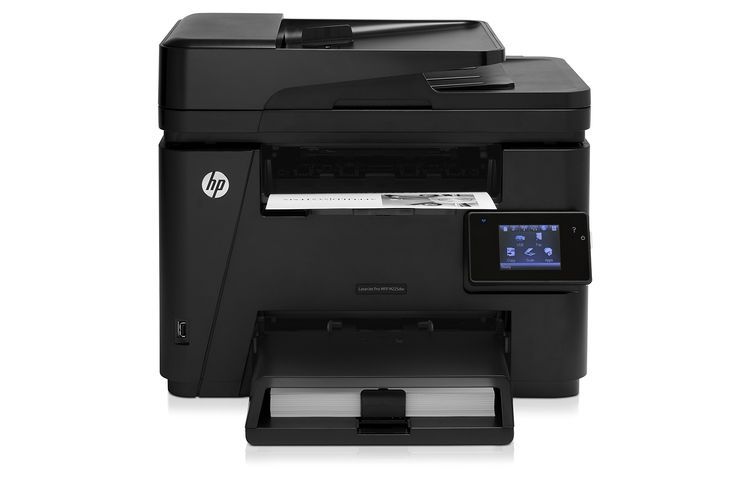 Hp laserjet pro m225dw wireless monochrome printer with