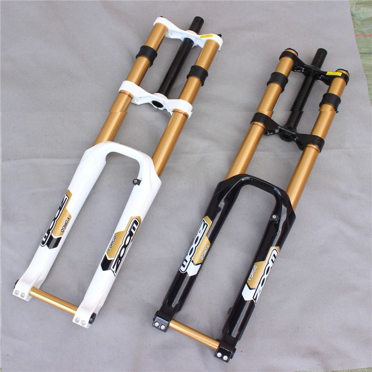 Taiwan ZOOM downhill bike fork mtb 26 bicycle fork bike suspension fork mountain bike accessories 2 color