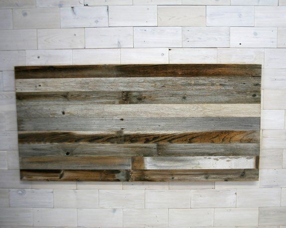 Barn Wood Hanging Headboard Panel All Bed Sizes Texture Horizon Design Wood Barn Wood Barn Wood Picture Frames