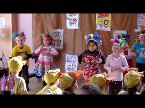 vogeltjesdans 50-jarig bestaan basisschool Achter D'hoven - YouTube