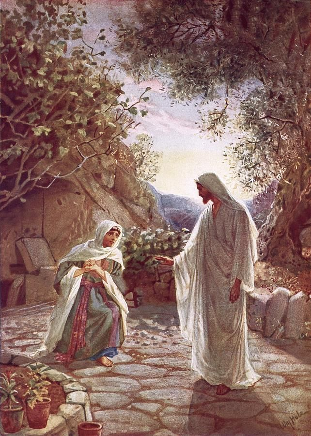 jesus revealing himself to mary magdalene search mary
