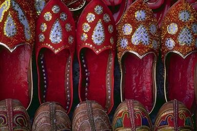 Hand-crafted Indian Shoes