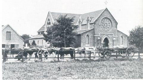 St Saviours Church in Commercial Road 1885 Pietermaritzburg History