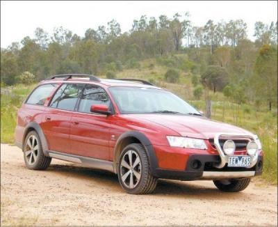 Holden Commodore Adventra AWD