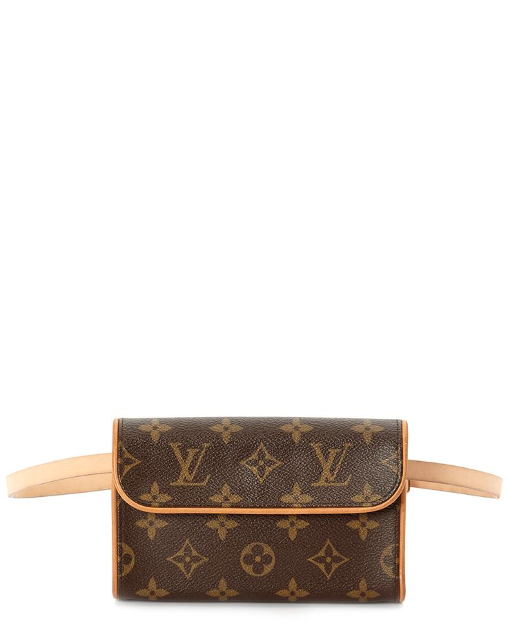 Spotted this Louis Vuitton Monogram Canvas Pochette Florentine. Now this is a fanny pack I could love!