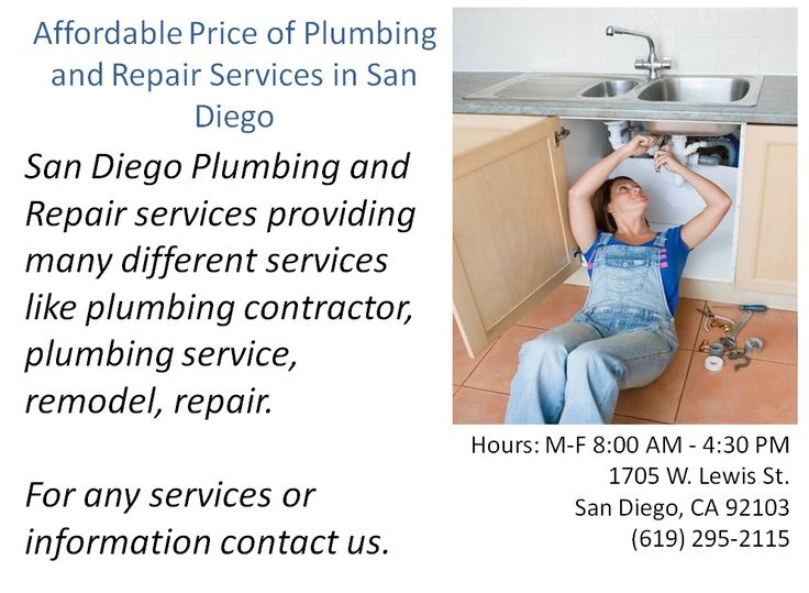 From 1914, Power Plumbing has had a passion for performing high quality Plumbing service.  Services like water leak, leaking pipe, gas log, repair, gas and water service residential, faucet repair, toilet repair, and many more.  The Plumbing service of your house is like the intestines of your gut; a bit gross, important not to get blocked up and you never want to see them.  For more emergency services you can contact San Diego Plumber for expert device.