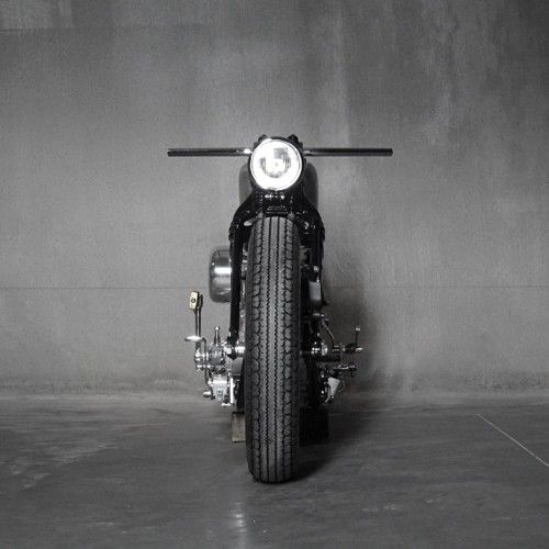 Some kind of awesome bike.