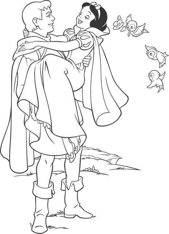 prince ferdinand  snow white  disney princess coloring