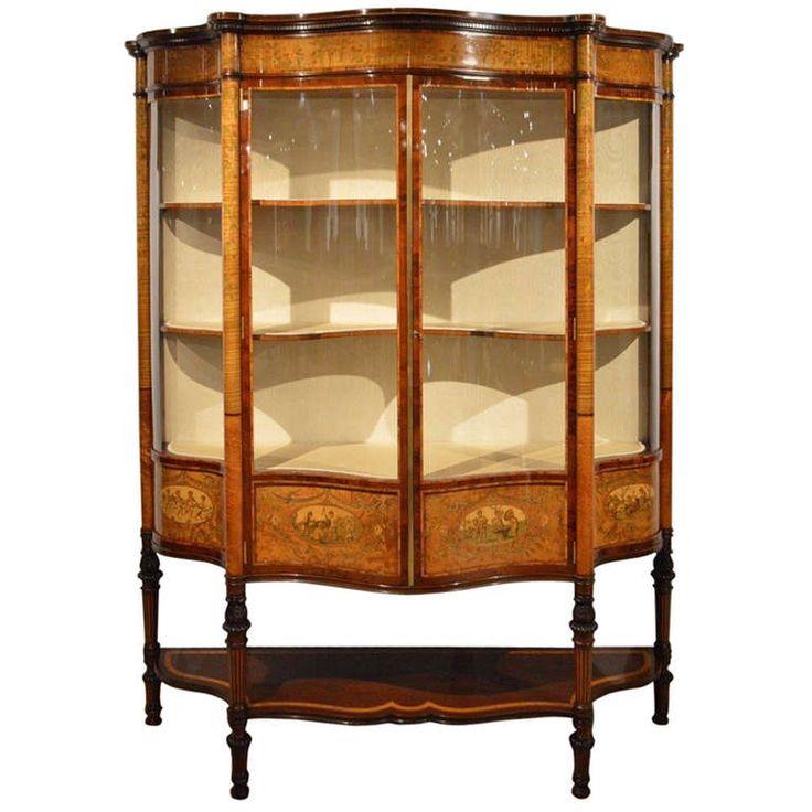 best 25 antique display cabinets ideas on pinterest china cabinet display china cabinet decor and kitchen cupboard redo