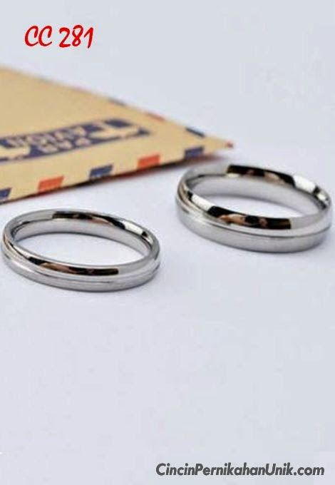 CINCIN Tunangan Emas, Cincin Kawin EMAS, Cincin Pernikahan TERBARU, Cincin Perak COUPLE: Cincin Pernikahan CC 281  http://www.cincinpernikahanunik.com/