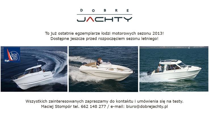 Jachty żaglowe, jachty motorowe, sprzedaż jachtów   Dobre Jachty