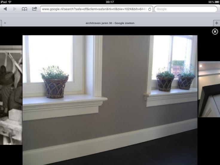 Prachtige vensterbanken