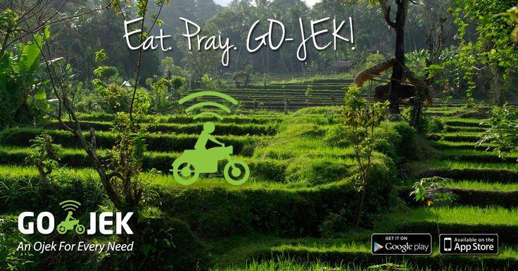 From Nusa Dua, Seminyak, Kuta, Denpasar, Sanur, Ubud, Canggu, Kerobokan... we got all the main areas covered! GO-JEK is operational in Bali... Download the app - www.go-jek.com/app #bali #gojek #transport #courier #shopping