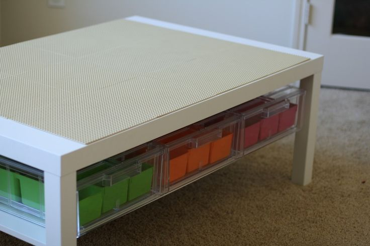 Ikea Hack: DIY Lego Table // Fancy Ashley