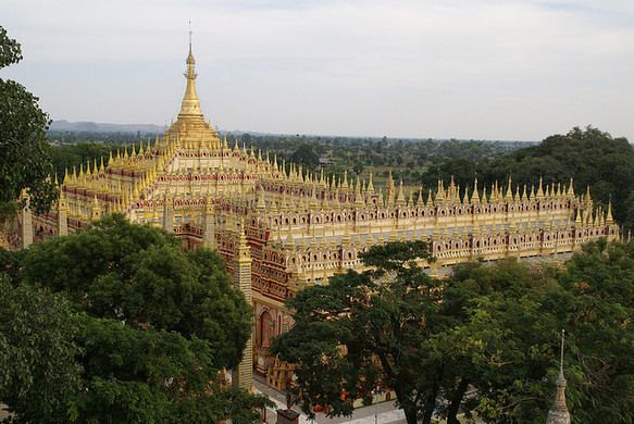 Thanboddhay Pagoda – Myanmar (Burma) - Atlas Obscura
