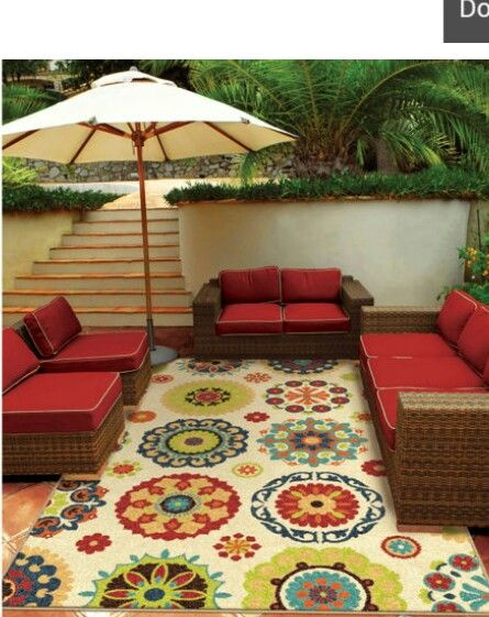 Costco outdoor rug white Camping Pinterest