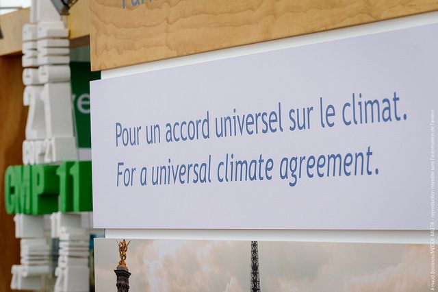 We've seen some progress on the latest #COP21 draft! #ClimateFinance #GoParis