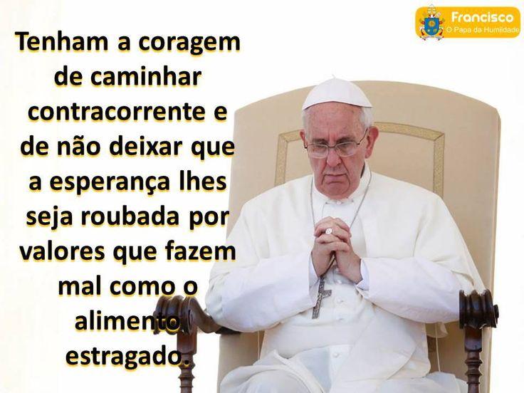 Compartilhando A Graça: 10 Frases Do Papa Francisco