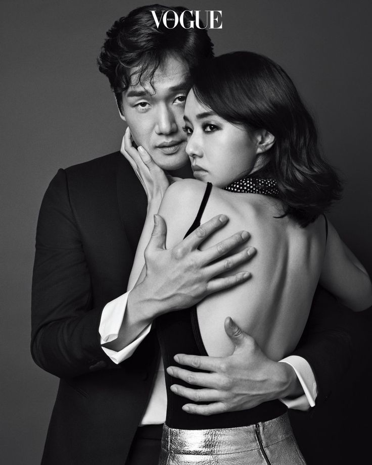 Yoo Ji-tae & Lee Jung-hyun // Vogue Korea