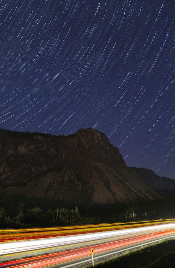 Humber Valley at night, Newfoundland