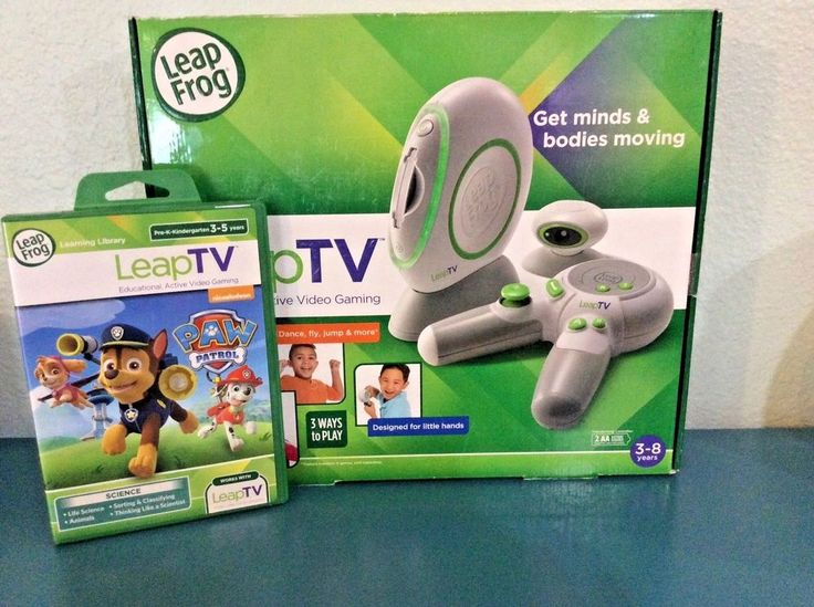 LeapFrog LeapTV Educational Gaming System Bundle with Paw Patrol video game NEW   | eBay