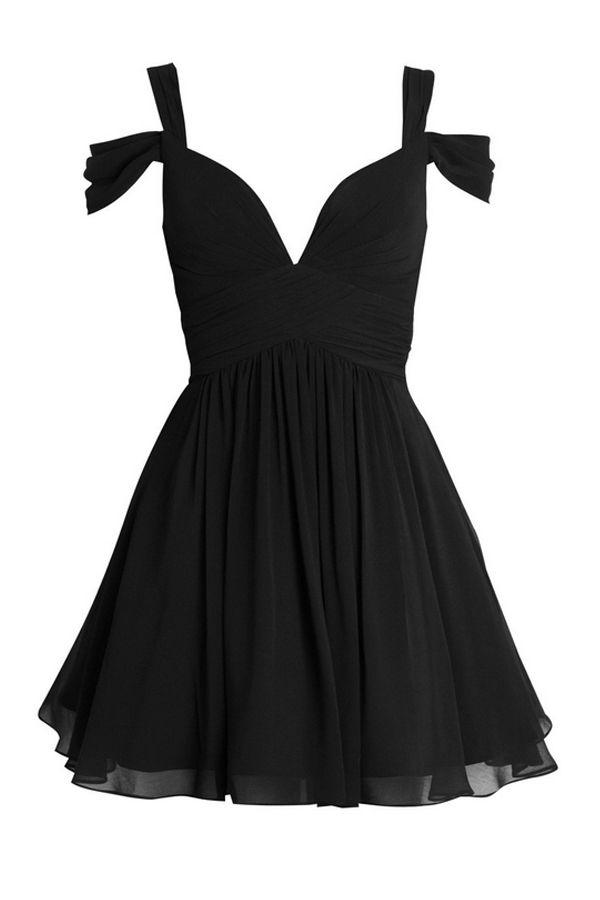 Elegant A Line Liebsten Short Chiffon Brautjungfernkleid   – Homecoming Dress   Mini  Dress