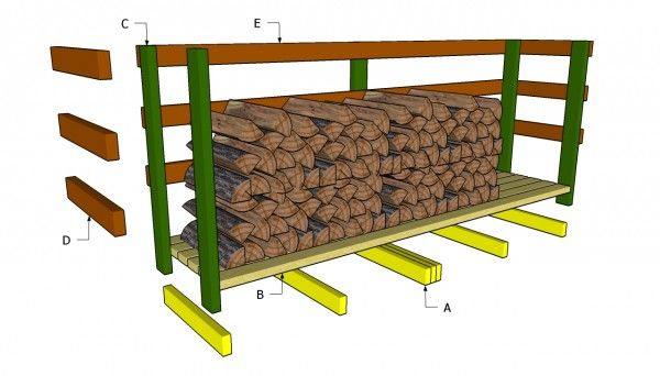 Pallet wood ahed plans