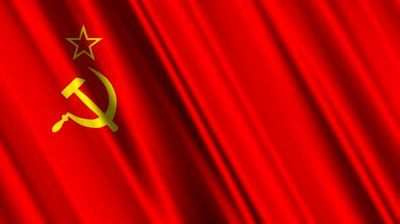 This is the Soviet Union flag, Soviet soldiers were in Afghanistan.
