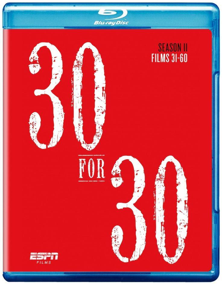 ESPN Films 30 for 30 Season 2 [Blu-Ray]: Amazon.ca: Various, eOne: DVD