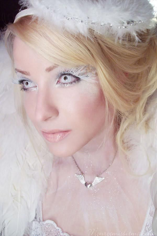 angel halloween makeup -#main