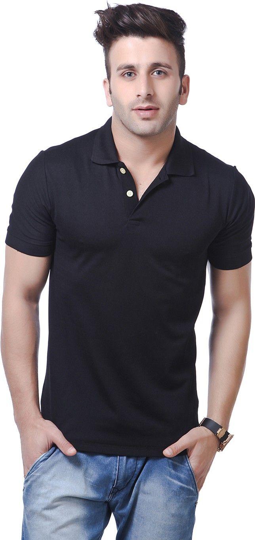 Black t shirt on flipkart - Http Www Flipkart Com American Crew Solid